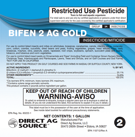 Bifenthrin Insecticide Label