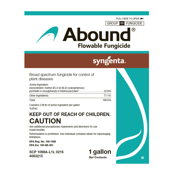 Abound Fungicide Label
