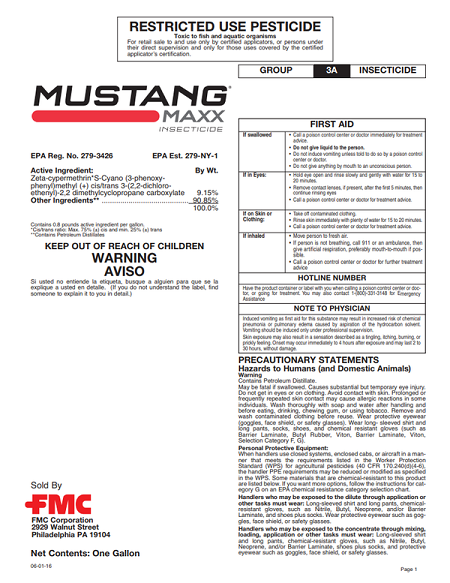 Mustang Maxx Label