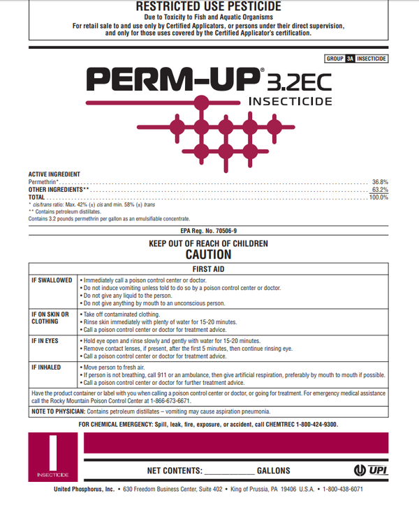 Perm-Up 3.2 EC Insecticide
