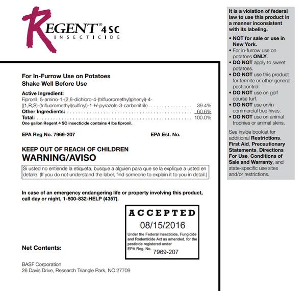 Regent 4 SC Insecticide